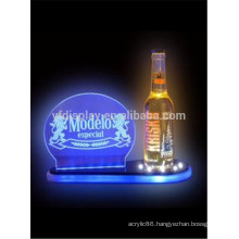 Acrylic led wine bottle display
