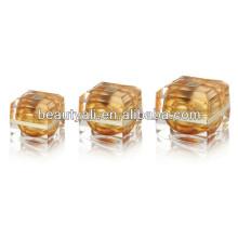 15ml 30ml 50ml Crema de lujo cosméticos de oro Jar