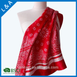 Promotional Gifts stain polyester scarf 90*90cm cheap scarves
