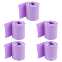 72мм фиолетовый батарея изолирующей втулкой 2:1 тонкие стены ПВХ термоусадочной трубки