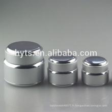 15g 30g 50g cosmétique argent couleur aluminium crème pot