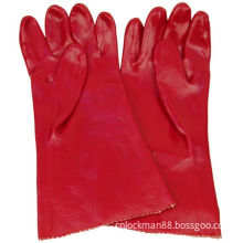 Red Working Labor Glove with CE Approval