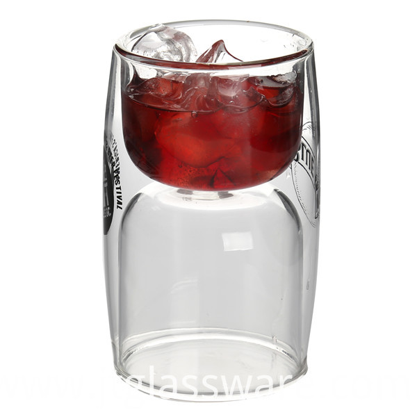 Borosilicate Glass Wine Cup