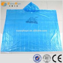 SUNNYHOPE Impermeáveis longos de PVC para mulheres