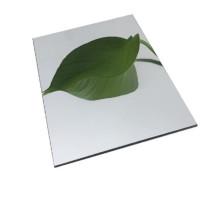 Plaque composite miroir aluminium argent ACP