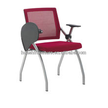 T-083SH-Y mesh folding chair with writing tablet