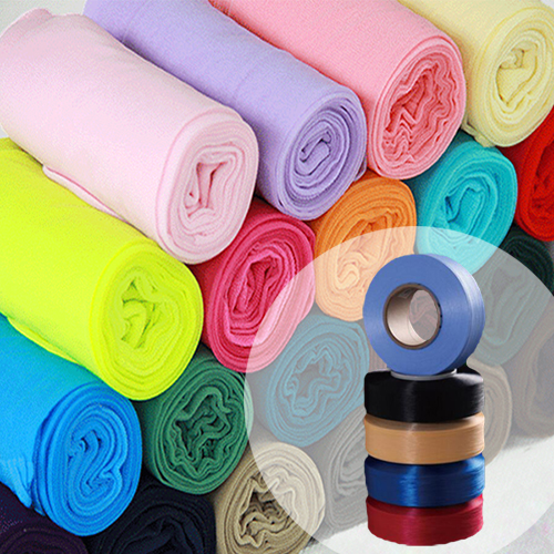 Color Spandex Knitting Yarn