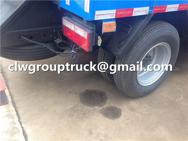 Tire and Spare One of Sewage Suction Truck