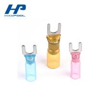 Terminal durável da forquilha do psiquiatra do calor do HDPE do cobre da posição inteiramente Isolada