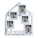 Home photo frame, house shape