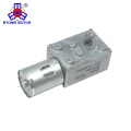 Motor de engranaje helicoidal 12v con engranaje reductor