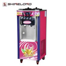 Haute qualité Soft Serve 3 Saveur utilisé distributeur de crème glacée molle