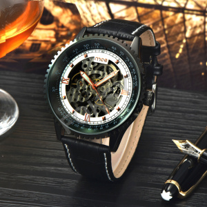 custom logo create your own brand alloy automatic watch