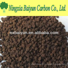 35% de sable de manganèse pour enlever le fer et le manganèse de l'eau