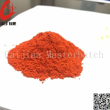 Tube Orange Colour Powder