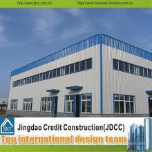 Conception élevée de bâtiment d'entrepôt d'atelier de structure en acier de Qulaity,