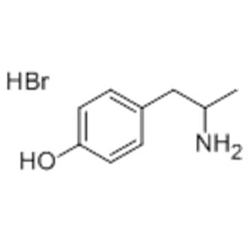 HYDROXYAMPHETAMINE HYDROBROMIDE CAS 306-21-8
