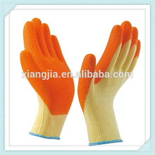 best quality crinkle finished 21 thread anti slip latex coated working glove