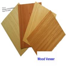 Revêtement de façade en placage de bois tranché