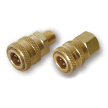 1/4  3/8  Brass or Plated steel Plug