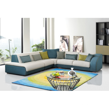 Living Room Furniture Fabric Sofa Set Corner Sofa