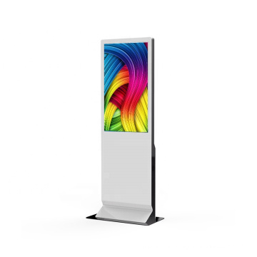 43 inch touch screen floor standing lcd digital signage media player indoor advertising display