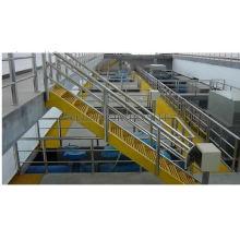 Passos de escada de fibra de vidro, anti-deslizante estrutural