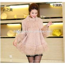 Frauen Top-Qualität Luxus Pelz Kleidung