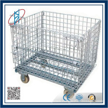 China Industrial Warehouse Steel Storage Cage