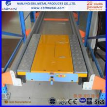 Nanjing Ebil Metall Automatisierte Stahl Q235 Radio Shuttle Regal