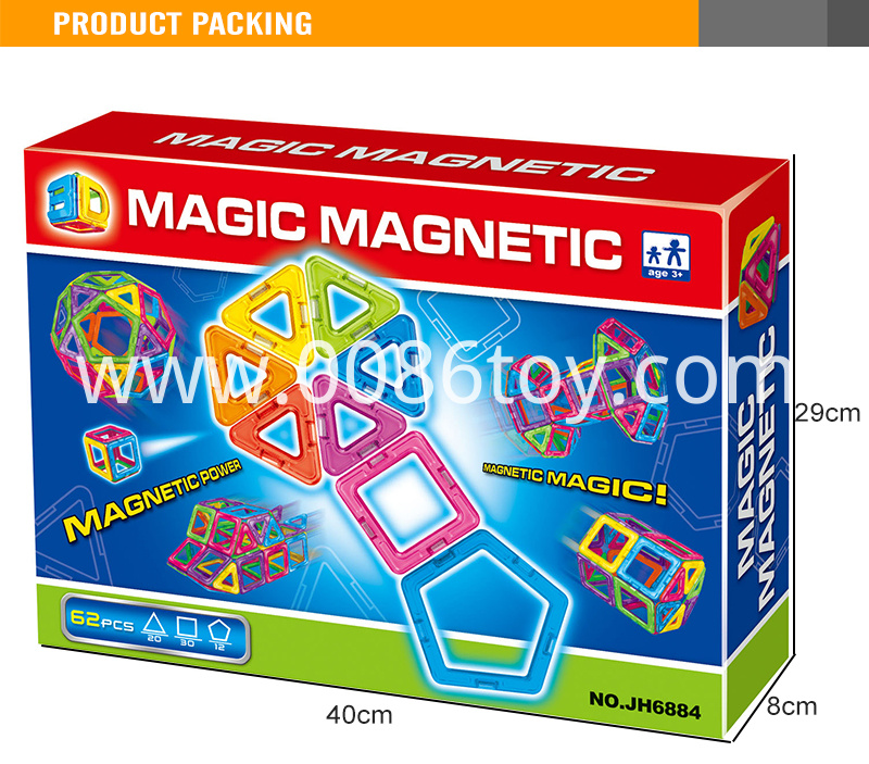 3magnetic educational toys