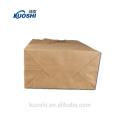 Новая продукция коричневый мешок Kraft бумажный с печатью Логоса