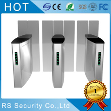 Keamanan RFID Passage Speed ​​Gate Flap Turnstile