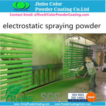 RAL9010 electrostatic powder paints coating for lighting lamp