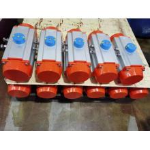 Pneumatischer Antrieb aus Edelstahl 2-Zoll-Kugelhahn
