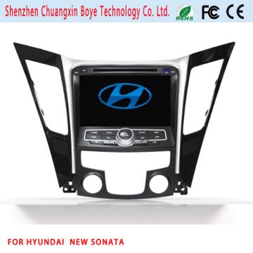 Hot 2 DIN Car DVD Navigation GPS pour Hyundai New Sonata