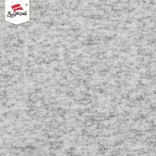 Tissu en tricot de prix de matériau poly populaire fait sur mesure
