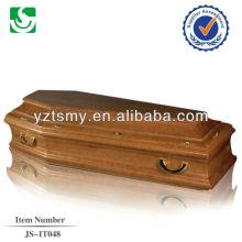 european style casket