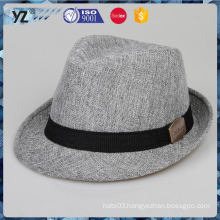 Latest product simple design homburg hats for men for 2016