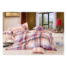 100 Baumwolle 40s 128 * 68 luxuriöser, weicher, hochwertiger Pigmentdruck ägyptischer Baumwollbettwäsche