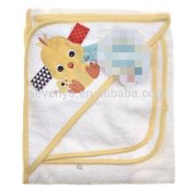 Даки с капюшоном полотенце с мочалкой,100% натуральный органический Бамбук,супер мягкая и вещество-поглотитель,лучший душ подарок для babys