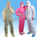 Topmed Hot Sale Disposable Coverall with Hood and Shoe Cover