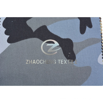 T/C65/35 2/1 Twill Fabric with Grey Desert Camouflage for Bulletproof Vest (ZCBP271)