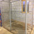 Grande cage de stockage industrielle de cage de gaz de sécurité de cage de sécurité industrielle