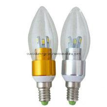Ce e Rhos E14 3W 5730 SMD Luz LED Vela