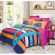 Chinese Bedding Set California King Bed Set With Flat Sheet OEM Available