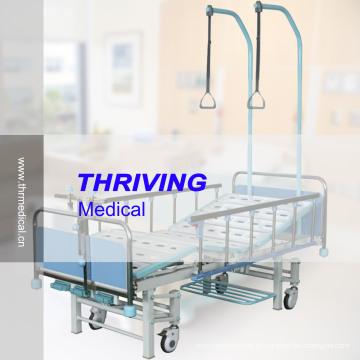 Cama ortopédica manual de 3 manivelas (THR-TB004)