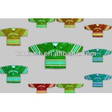 6XL Custom Made Embroidered Reversible Sublimation Ice Hockey Jerseys