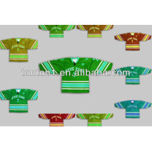 6XL Custom Made bordados reversíveis Sublimation Ice Hockey Jerseys