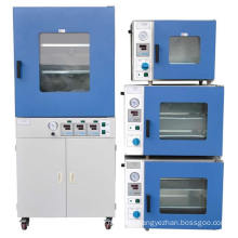 small electric drying vacuum oven with vacuum pump